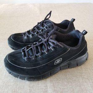 Skechers Black walking Running Sneaker women's